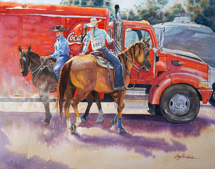 Rodeo Red - Suzys Art