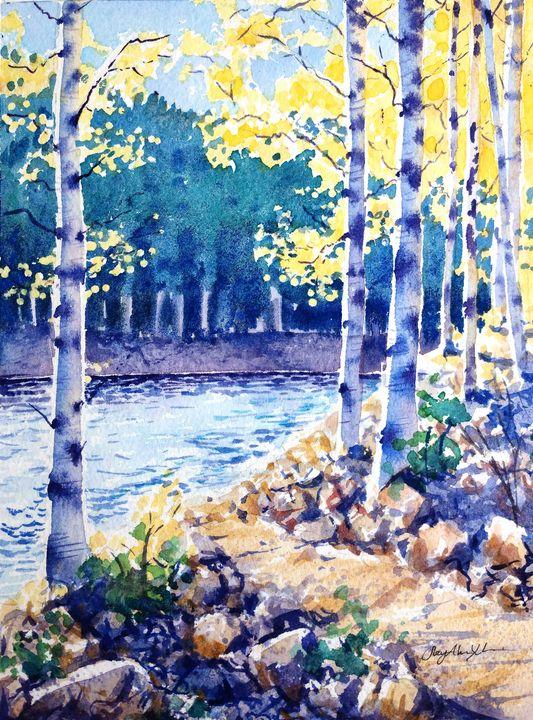 Aspen Trail - Suzys Art