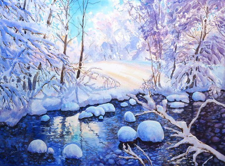 Fresh Fallen Snow - Suzys Art