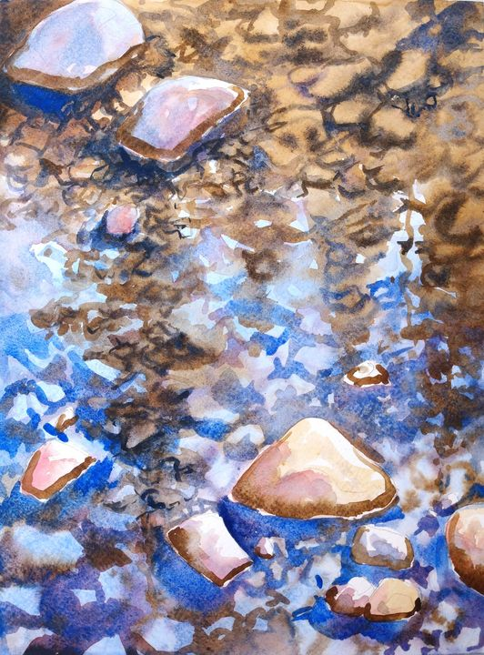 Reflections of Pine - Suzys Art