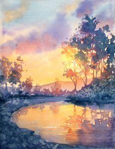 Sunset - Suzys Art