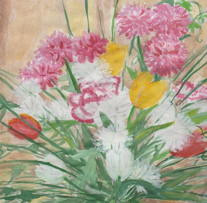Spring Flowers - Nian Lrel
