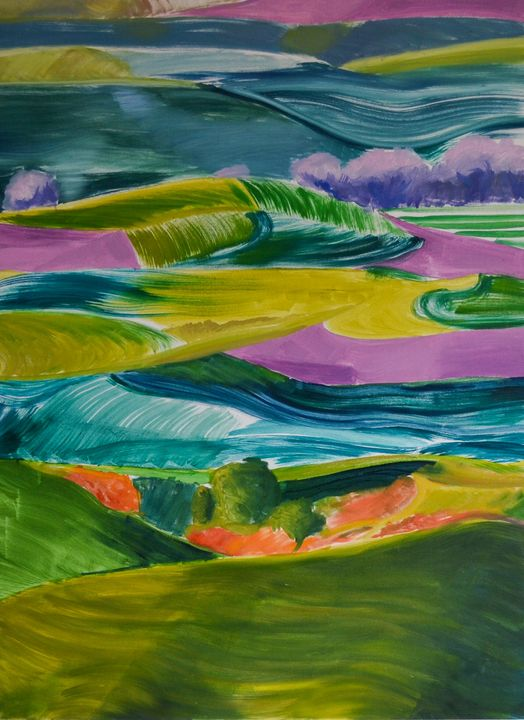 """""""The Colours of a Distant Land"""" - Pocaarts"""