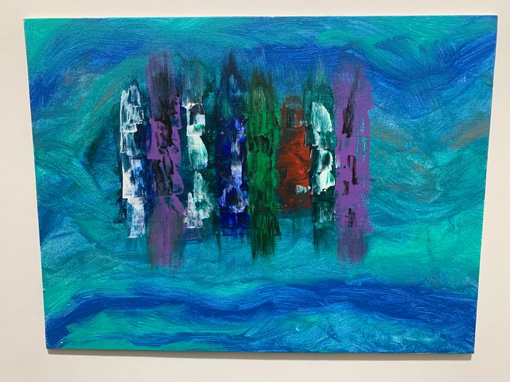 Ship from Above. (SOLD) - Jim White