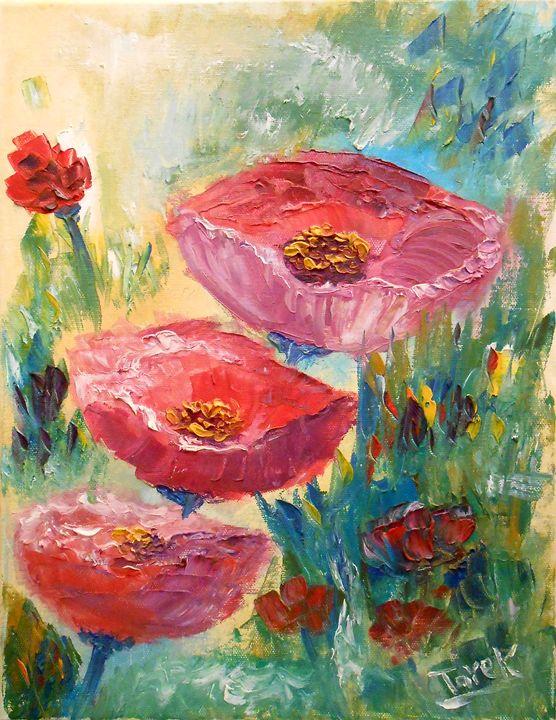Flower-II - Tarek El Adley Art