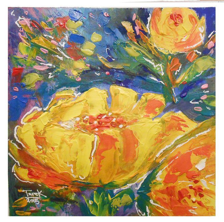 Flower-Set1 - Tarek El Adley Art