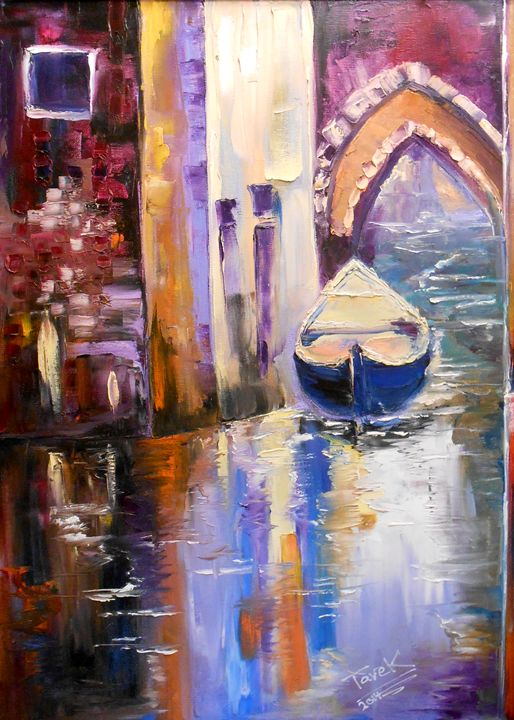The gondola - Tarek El Adley Art