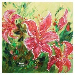 Stargazer lilies Flowers-Set-2