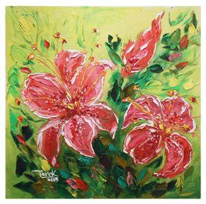 Stargazer lilies Flowers-Set-1