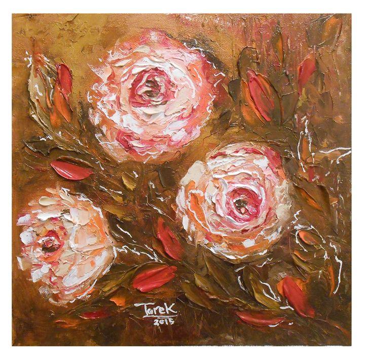 Roses flowers-SET-2 - Tarek El Adley Art
