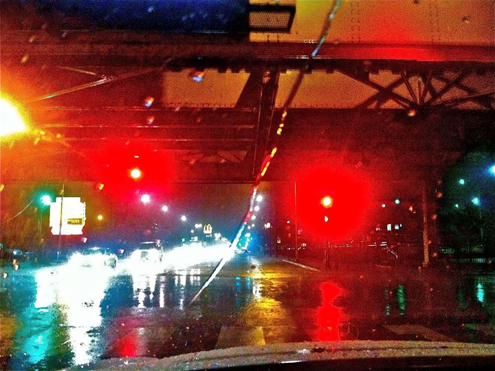 CITY UNDERPASS RAIN AND LIGHT - Tirzah Fujii