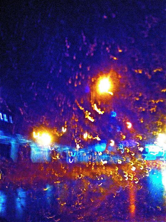 HIGHWAY LIGHTS AND RAINSHOWERS - Tirzah Fujii