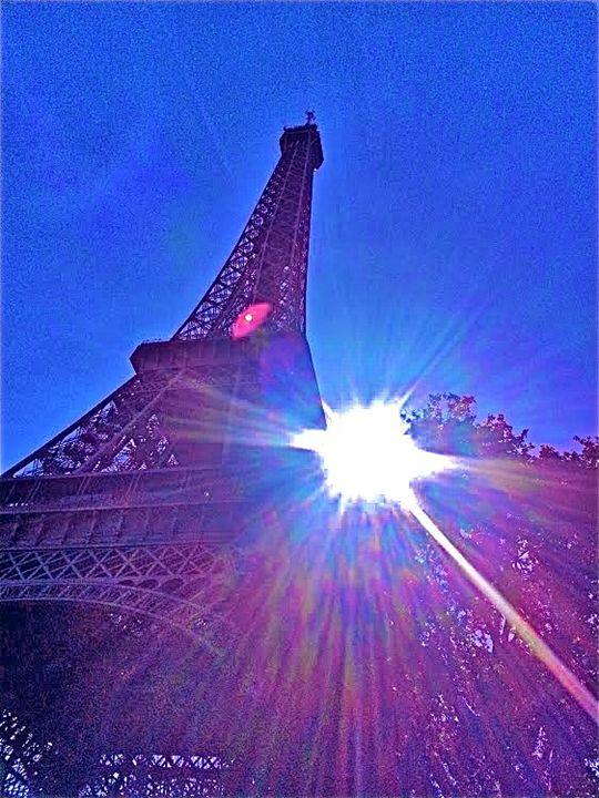 EIFFEL TOWER REFLECTIONS - Tirzah Fujii