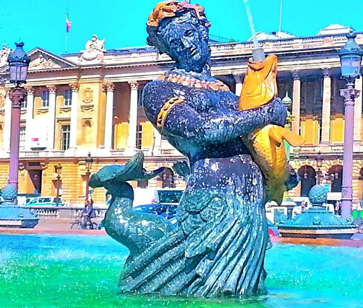 PARISIAN WATER FOUNTAIN NYMPH - Tirzah Fujii