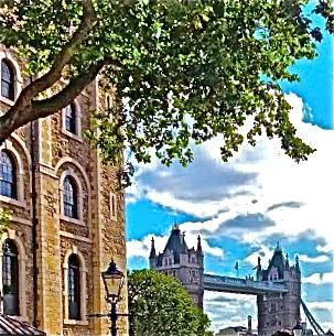 LONDON BRIDGE FROM TOWER OF LONDON - Tirzah Fujii