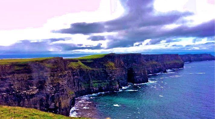 CLIFF OF MOHR IRELAND - Tirzah Fujii