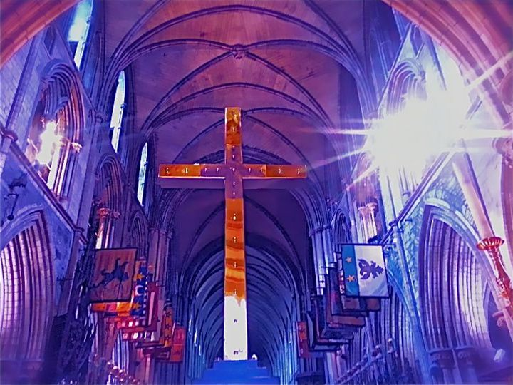 ST. PATRICKS CATHEDRAL CROSS IRELAND - Tirzah Fujii