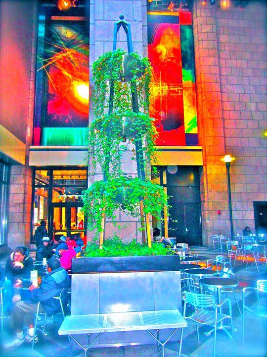 CHRISTMAS CITY INDOOR CAFE - Tirzah Fujii