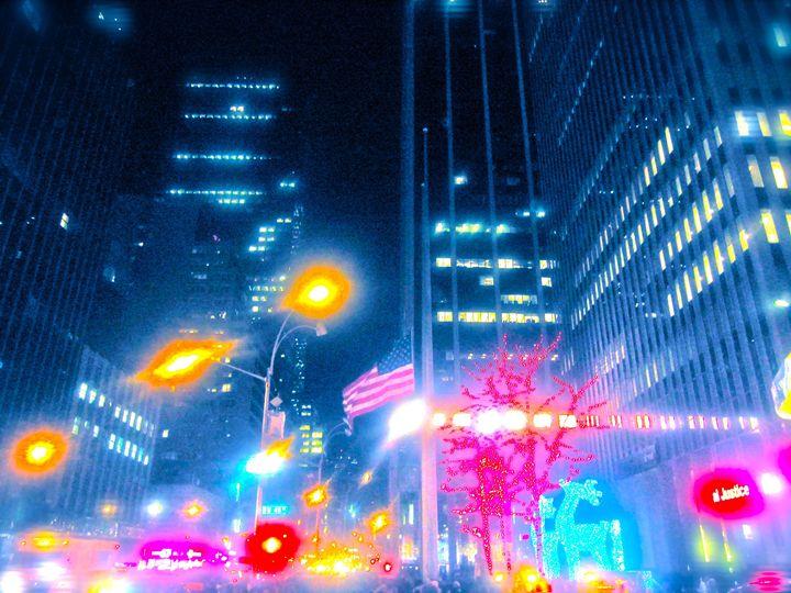 TIMESQUARE CHAOTIC LIGHT VIBRANCY - Tirzah Fujii