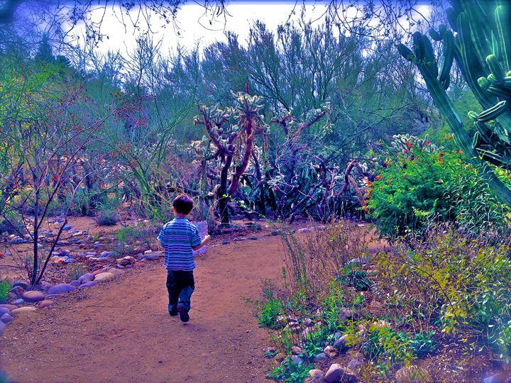 FINDING HIS WAY - Tirzah Fujii