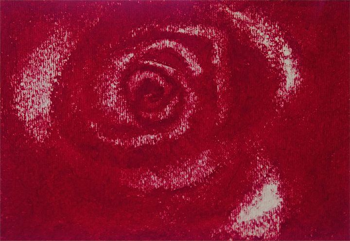 CRIMSON RED ROSE - Tirzah Fujii