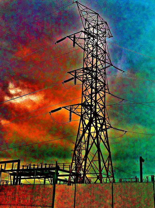 RAINBOW ELECTRICITY PIXELS - Tirzah Fujii