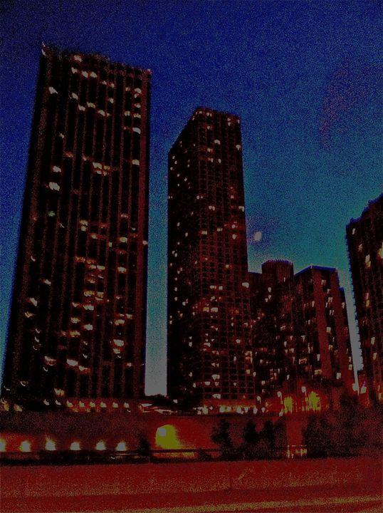 MIDNIGHT CITY BLUR - Tirzah Fujii