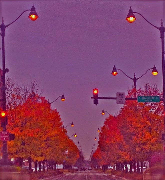 CITY MORNING IN ORANGE - Tirzah Fujii