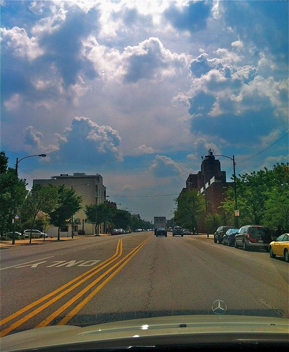 CITY STREETS CLOUD AND SKY INNOCENCE - Tirzah Fujii