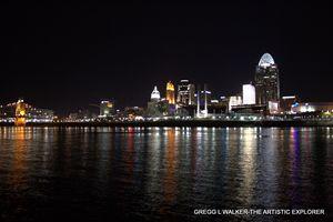 skyline reflection - Gregg L Walker - The Artistic Explorer