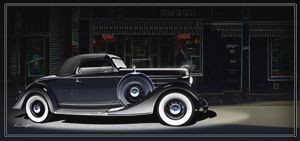 1934 Lincoln K - Classic Cars