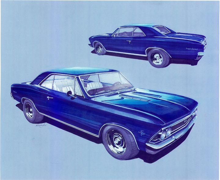 1967 Chevrolet Chevelle - Classic Cars
