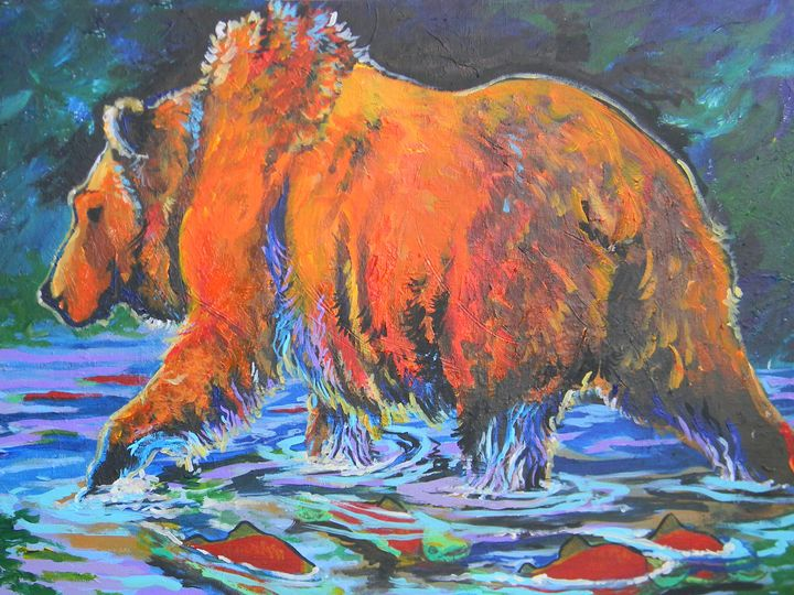 Bear Creek - Jupiter Jenny Arts
