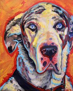 Gustav face - Jupiter Jenny Arts