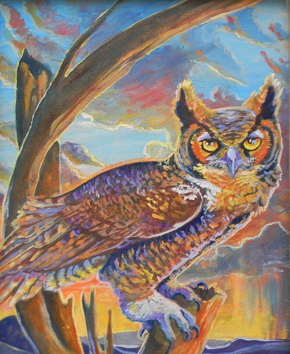 Waiting for Sundown - Jupiter Jenny Arts