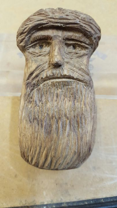 The Dark Stanger - Sylvans Wood Carvings