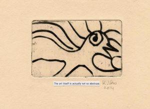 The art abstruse.