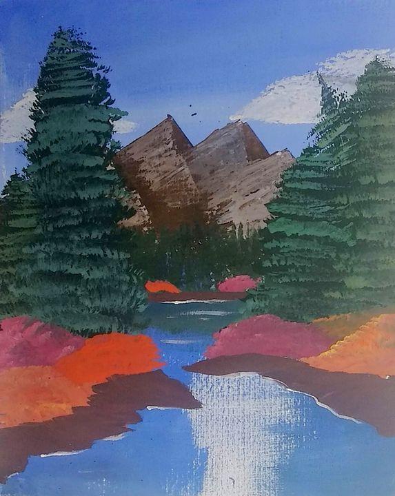 Secluded Mountain Pond - Matt Harley