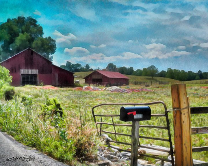 Another Old Barn in Tennessee - Restless D Graphics