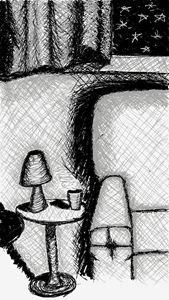Chair & Coffee Table