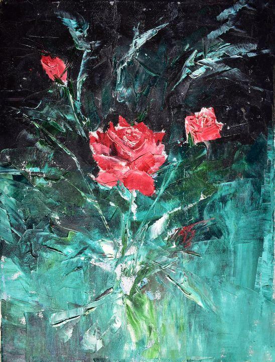 Red roses - Savan