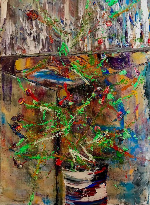 Flower in the corner - Ovidiu Muresan