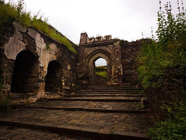 War ruins - Madhulika
