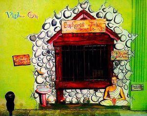 Euphoria Juice Bar Mural