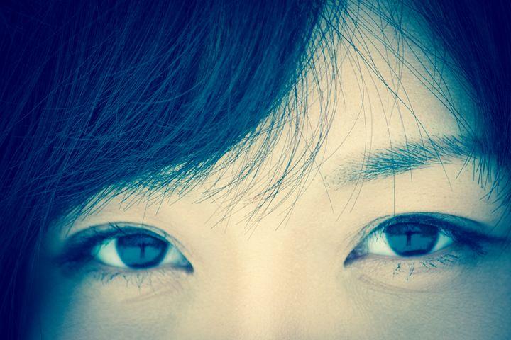 Pretty asian eyes - Willcobain