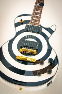 A famous electric guitar