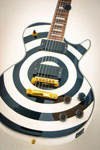 A famous electric guitar