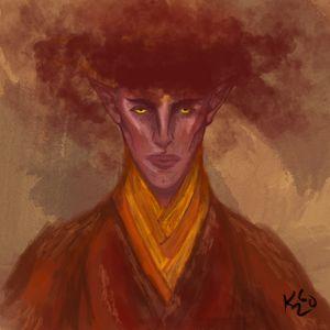 Fen'Harel watercolor