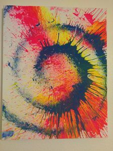 Color light swirl