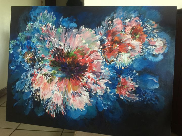 original acrylic Painting on canvas - Huifineart